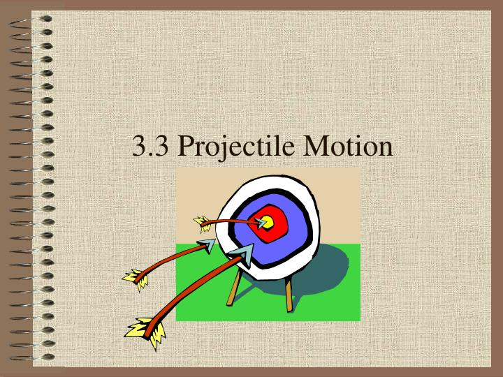 3 3 projectile motion n.