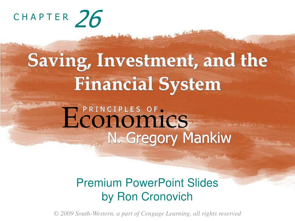 Saving investment and the financial system mankiw ppt icon investment corporation prospectus carrefour