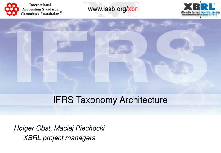 ifrs taxonomy architecture n.