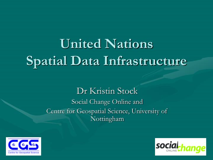 united nations spatial data infrastructure n.