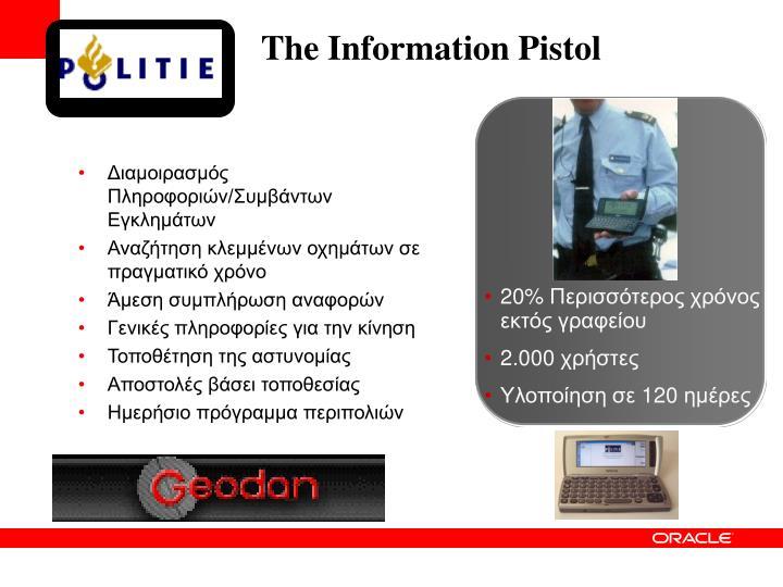 The Information Pistol