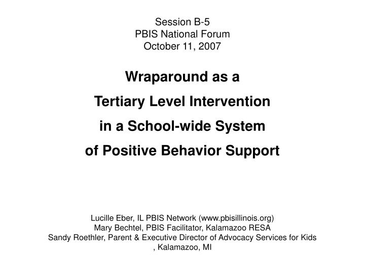 session b 5 pbis national forum october 11 2007 n.