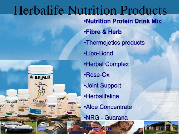 Herbalife Nutrition Products