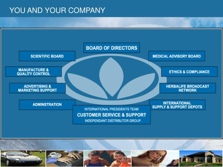 YOU AND YOUR COMPANY