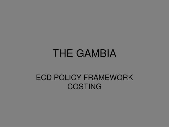 the gambia n.