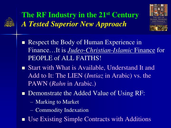 The RF Industry in the 21