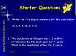 starter questions53