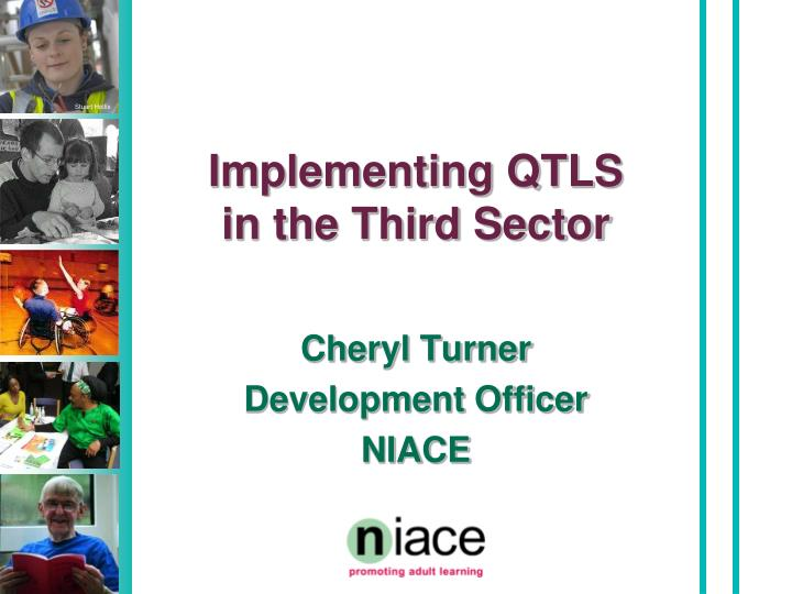 implementing qtls in the third sector n.