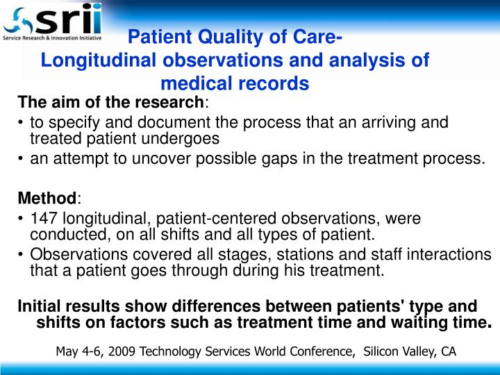 Patient Quality of Care-