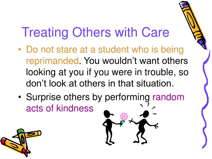 Treating Others with Care