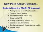 new pe is about outcomes