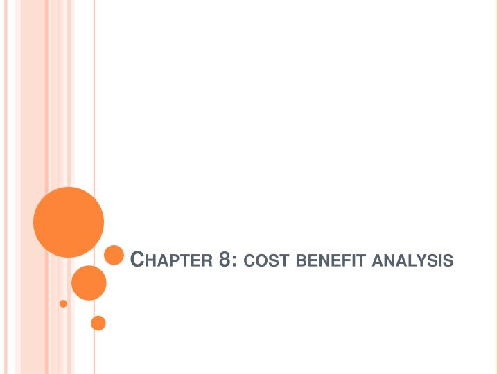 ppt - chapter 8: cost benefit analysis powerpoint presentation, Modern powerpoint