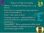 types of sponsorship7
