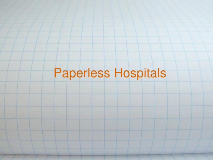 paperless hospitals n.