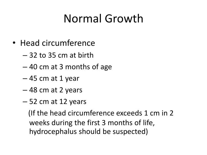 Normal Growth