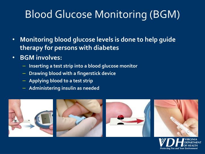 monitoring the glucose level of diabetic patients Monitoring your glucose levels daily, also known as self-testing, is an essential part of managing diabetes, just like changing lifestyle habits and taking medication it allows you to see the impact of the measures you are taking to better control your diabetes, including.