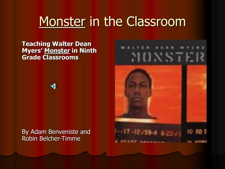 monster in the classroom n.