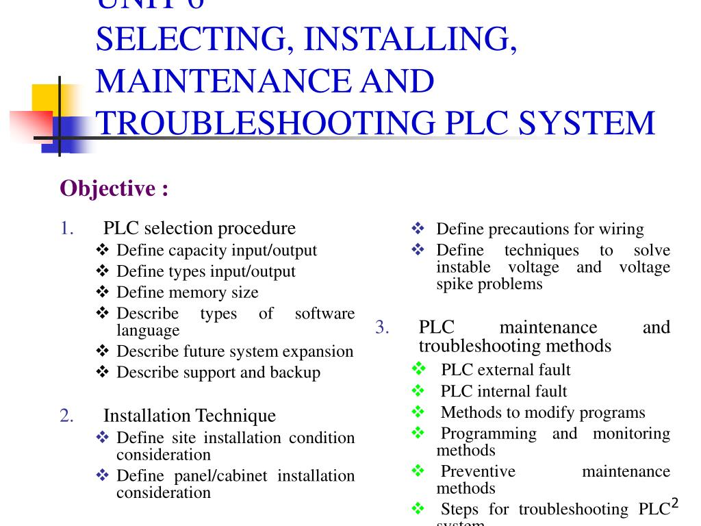 PPT - PROGRAMMABLE LOGIC CONTROLLER (PLC) AND AUTOMATION