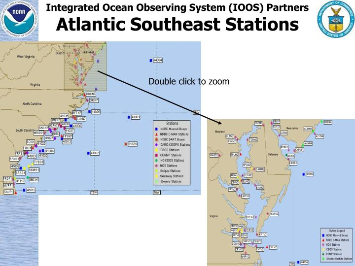 Integrated Ocean Observing System (IOOS) Partners