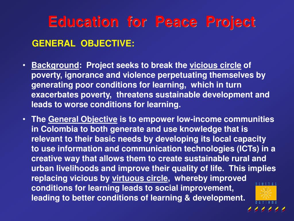 Education  for  Peace  Project