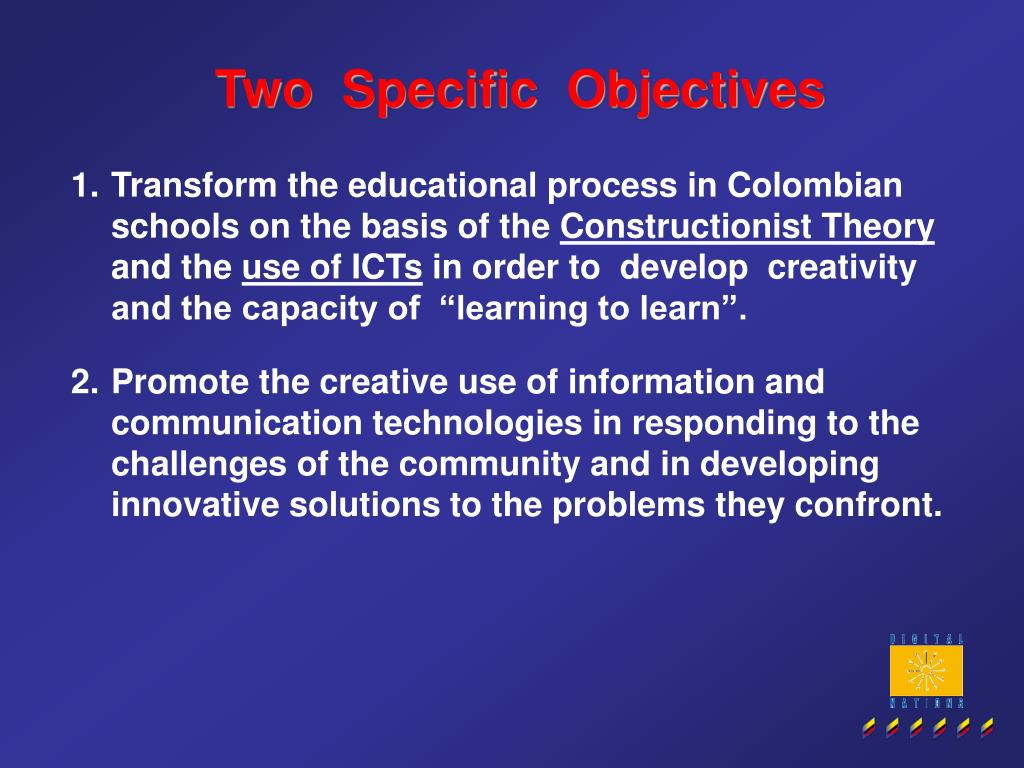 Two  Specific  Objectives