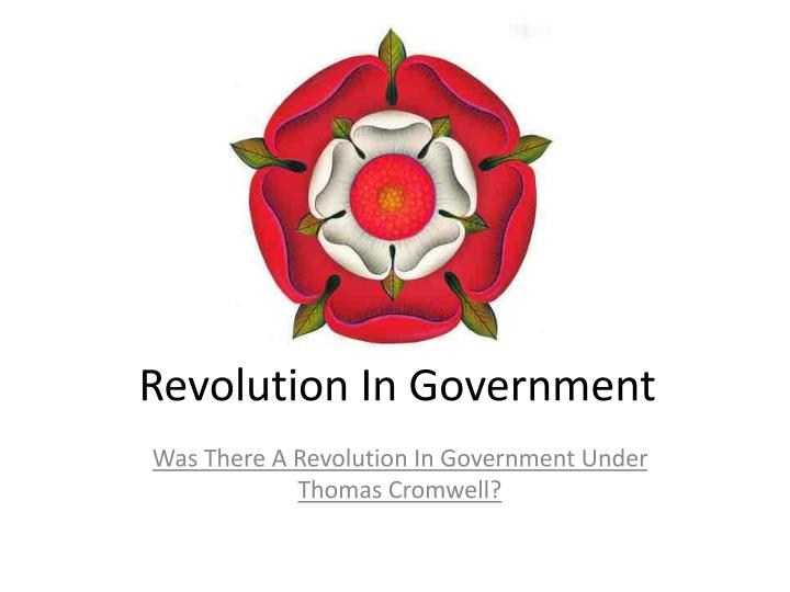 revolution in government n.