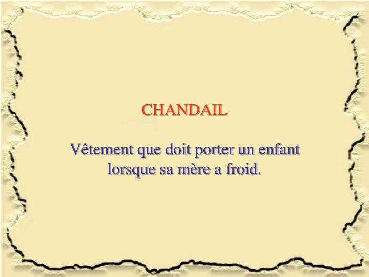 CHANDAIL