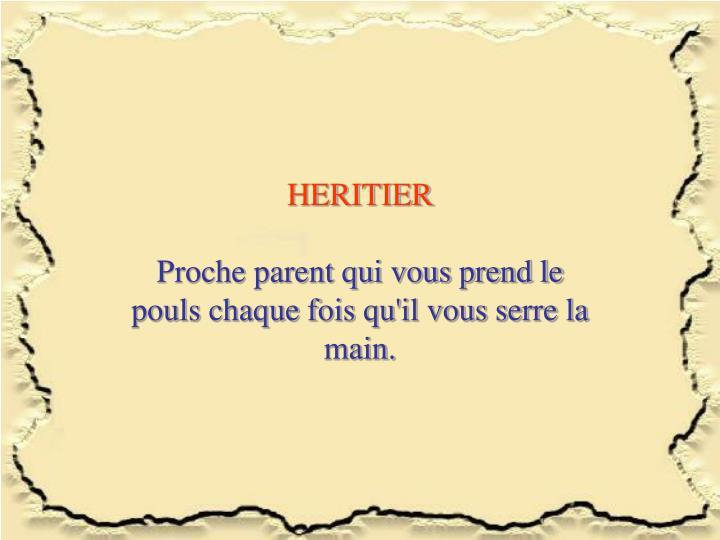 HERITIER