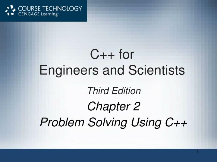 chapter 2 problem solving using c n.