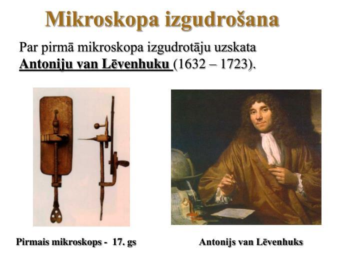 Mikroskopa izgudrošana