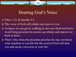 hearing god s voice48