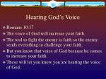 hearing god s voice49
