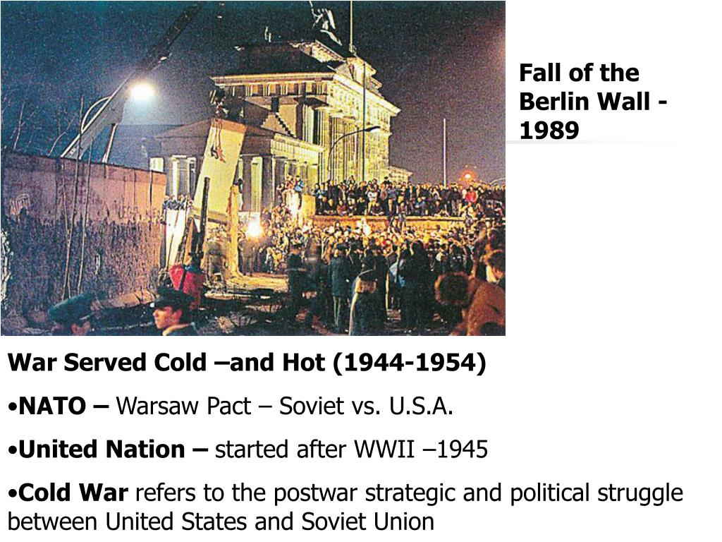 Fall of the Berlin Wall -1989