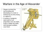 warfare in the age of alexander3