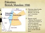 palestine british mandate 1946