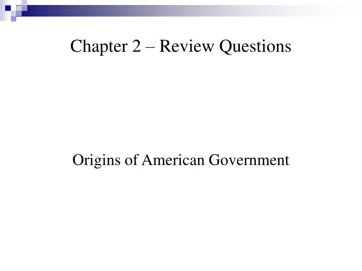 chapter 2 review questions n.