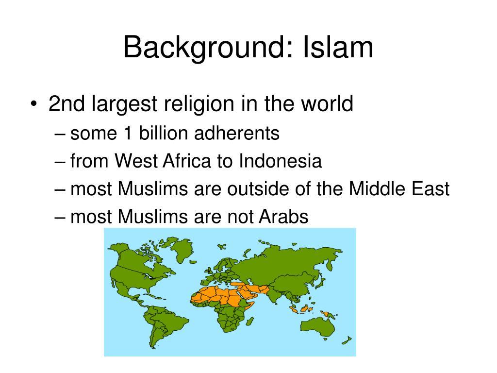 Background: Islam