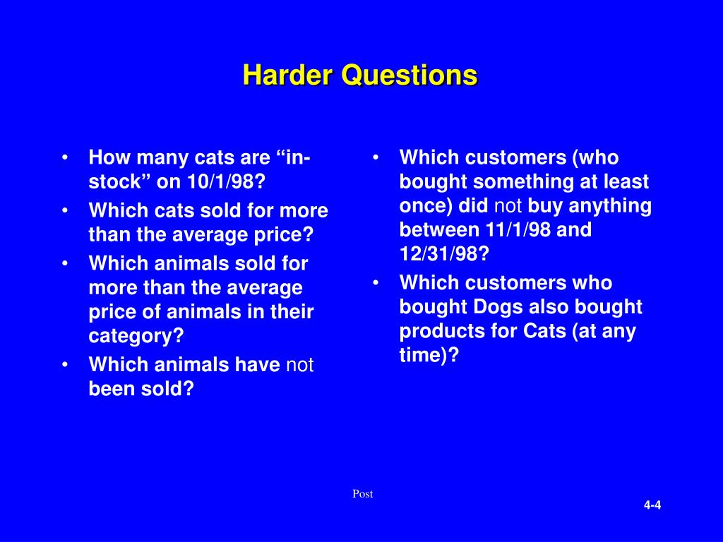 "How many cats are ""in-stock"" on 10/1/98?"