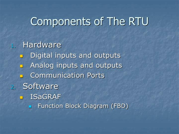 Components of The RTU
