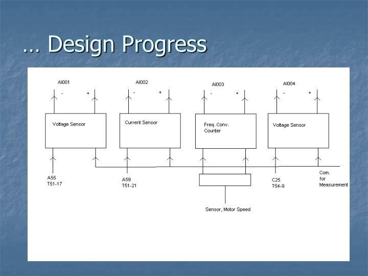 … Design Progress