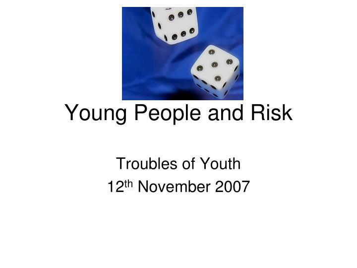 young people and risk n.