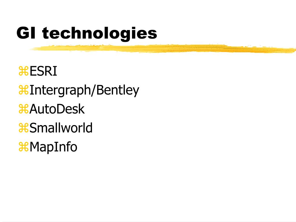 GI technologies