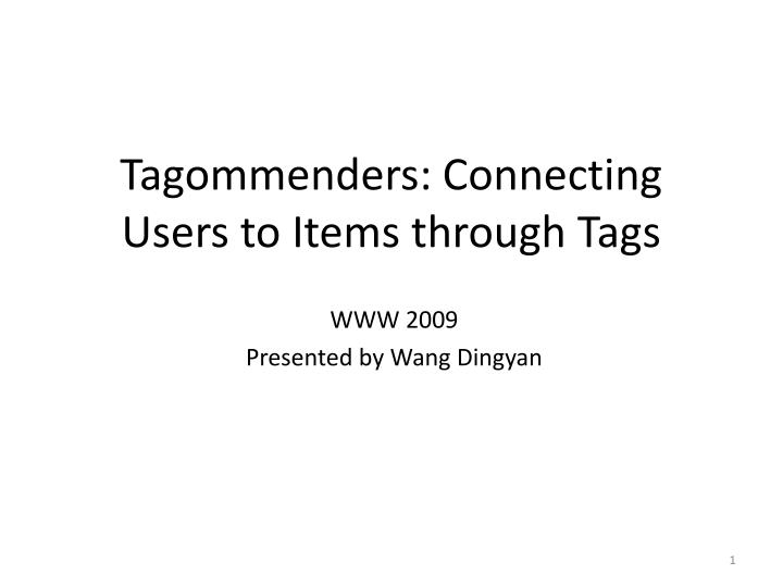 www 2009 presented by wang dingyan n.