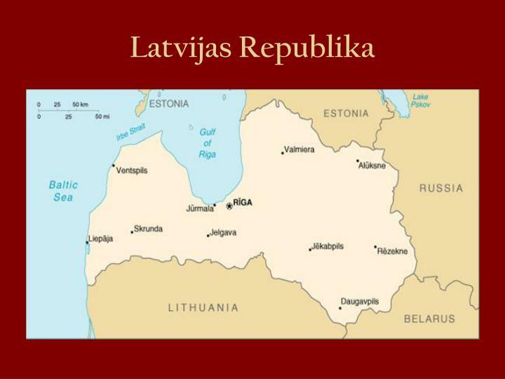 Latvijas republika