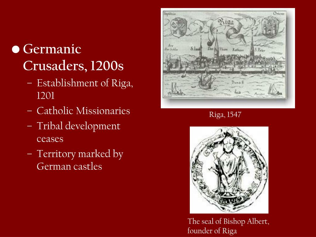 Germanic Crusaders, 1200s