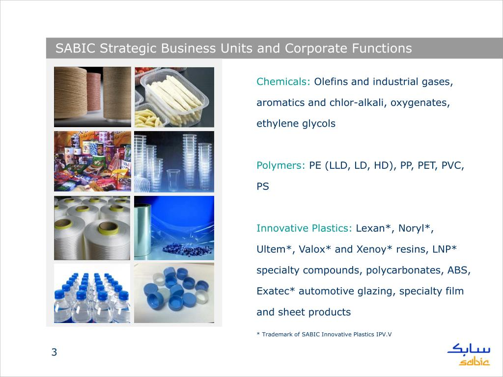 PPT - SABIC Today PowerPoint Presentation - ID:1074714