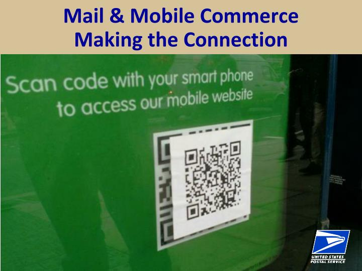 mail mobile commerce making the connection n.