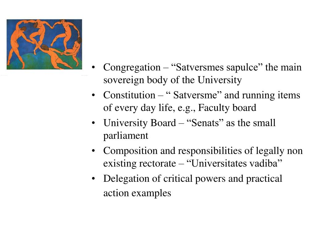 """Congregation – """"Satversmes sapulce"""" the main sovereign body of the University"""