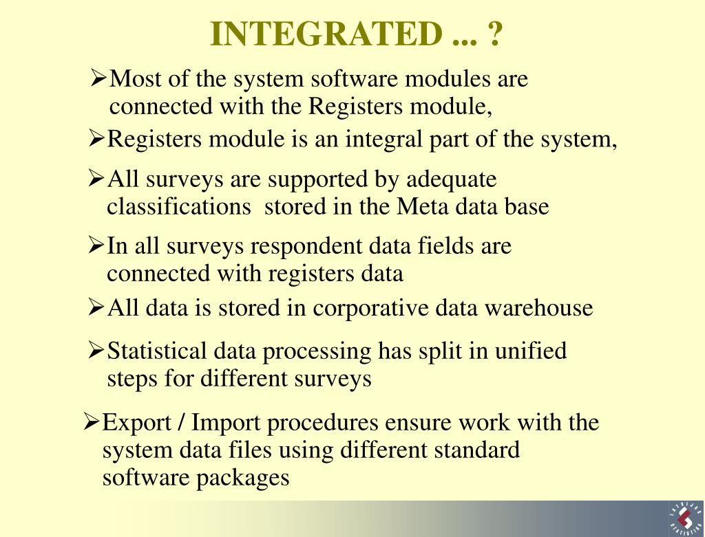 Most of the system software modules are connected with the Registers module,