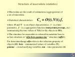 structure of macrodata statistics
